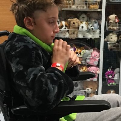 Jack during treatment