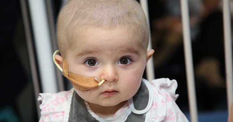 Ellie in hospital