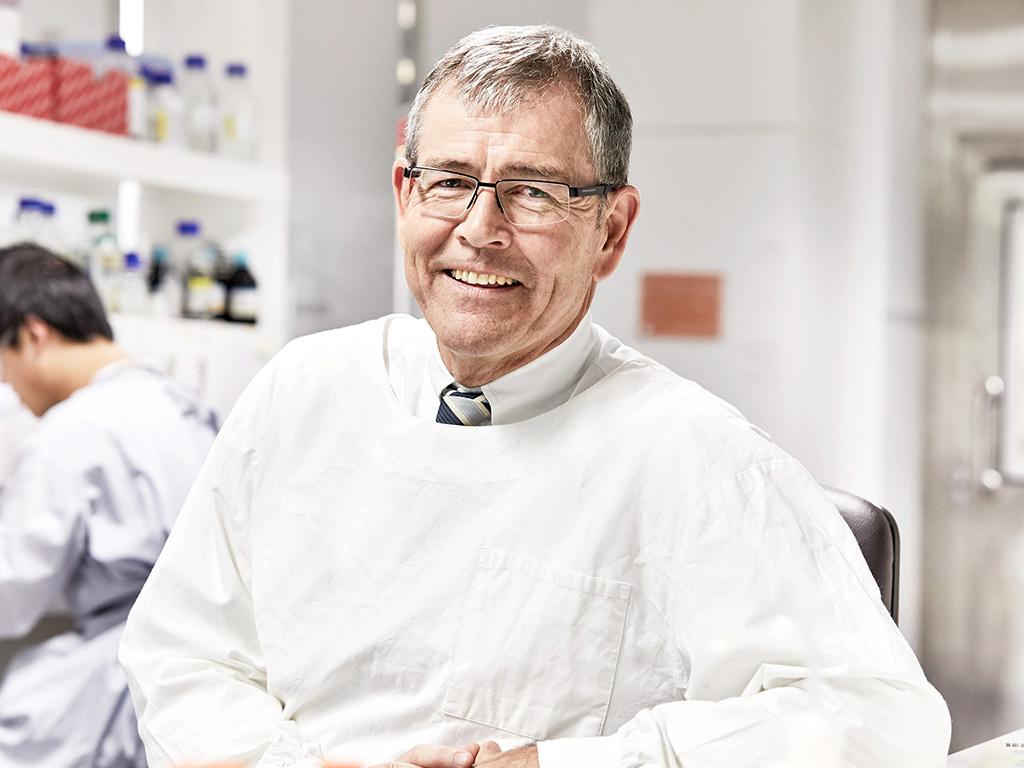 Professor Glenn Marshall smiling